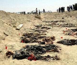 Mass grave with 222 bodies found in Iraq